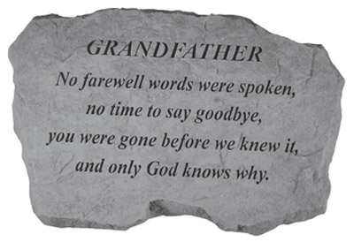 98120 GRANDFATHER- No Farewell Words...-0