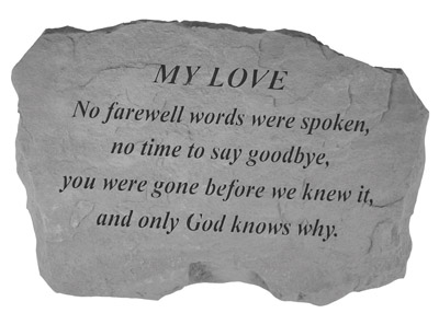 98520 MY LOVE- No Farewell Words...-0