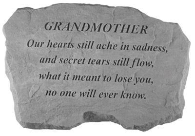 98820 GRANDMOTHER- Our Hearts Still Ache...-0