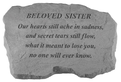 99120 BELOVED SISTER- Our Hearts Still Ache...-0
