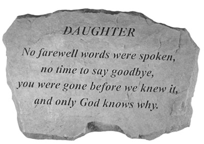 99520 DAUGHTER-No Farewell Words...-0