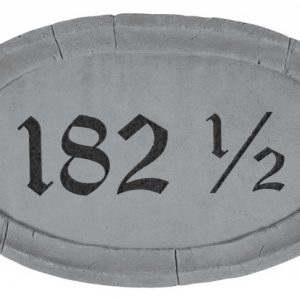 33110 Oval Address Plaque-0