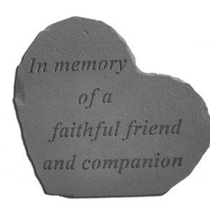 08509 SM HEART In memory of...-0