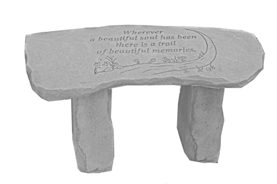 37920 Wherever a beautiful soul...bench-0