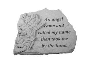 07035 An angel came...w/fern-0