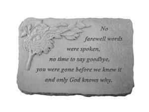 07516 No farewell words...w/birds nest-0